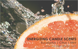 Energizing Candle Scents