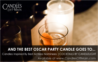 Oscar Party Candles