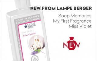 New Lampe Berger Fragrance Oils