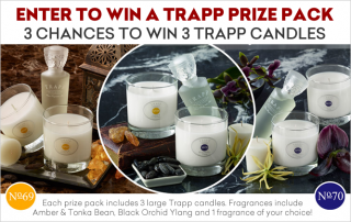 Trapp Candle Giveaway
